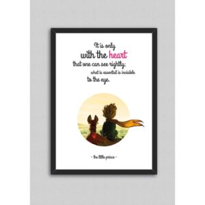 Tablou North Carolina Scandinavian Home Decors Little Prince Quote V1, 33 x 43 cm