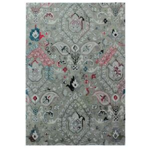 Covor țesut manual Flair Rugs Persian Fusion, 160 x 230 cm, gri