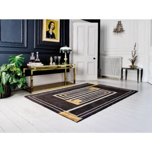 Covor țesut manual Flair Rugs Moderne Lifestyle, 120 x 170 cm, maro
