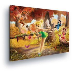 GLIX Tablou - Disney Fairies in Fall II 60x40 cm