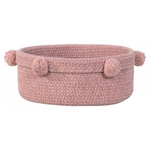 Cos roz din bumbac Tray Ash Rose Lorena Canals