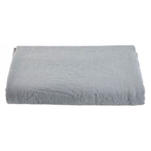 Cuvertura gri din in si bumbac 250x260 cm Soft Collection Bolia