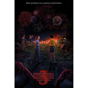 Stranger Things - One Summer Poster, (61 x 91,5 cm)
