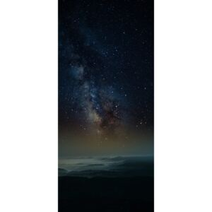 Fotografii artistice Astrophotography picture of Granadella landscape with milky way on the night sky., Javier Pardina