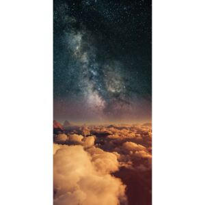 Fotografii artistice Astrophotography picture of 3D landscape with milky way on the night sky., Javier Pardina
