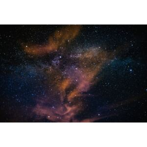 Fotografii artistice Details of Milky Way of St-Maria multicolour graded with clouds, Javier Pardina