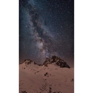 Fotografii artistice Red light Peak under the milky way, Javier Pardina