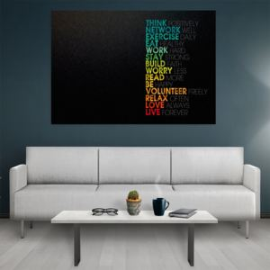 Tablou canvas Motivational Think