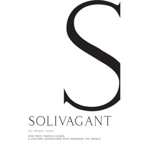Ilustrare Solivagant traveller definition, Blursbyai