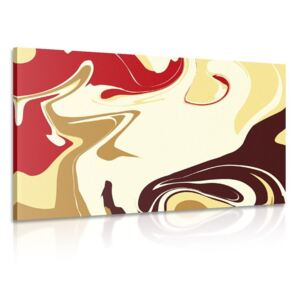 Tablou model abstract de materiale individuale