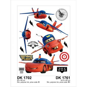 Sticker decorativ DK1761 Cars Planes
