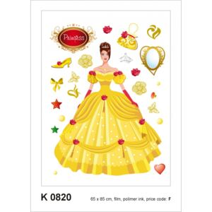 Sticker decorativ K0820 Printesa