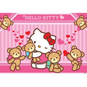 Fototapet 462 P4 Hello Kitty ursi de plus