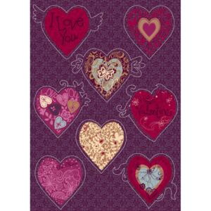 Sticker decorativ 17031 Valentine