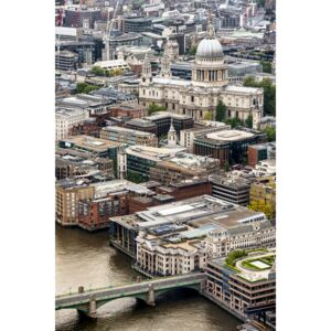 Fotografii artistice View of City of London with St. Paul's Cathedral, Philippe Hugonnard