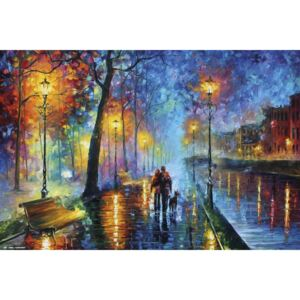 Leonid Afremov - Romantic Couple Poster, (91,5 x 61 cm)