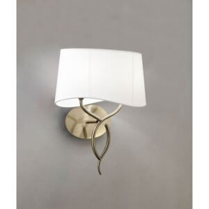 Aplica-NINETTE-ANTIQUE-BRASS---OFF-WHITE-SHADE-1923-Mantra