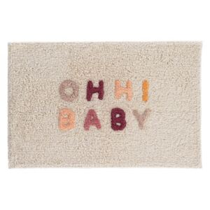 Covoras baie crem din bumbac 40x60 cm Nandi Ohh! Baby Kave Home