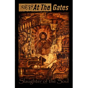 Poster textile At The Gates - Slaughter of the Soul