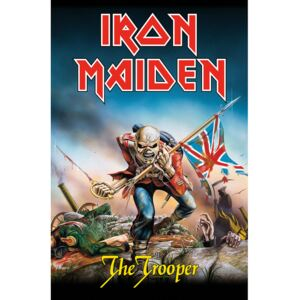 Poster textile Iron Maiden - The Trooper