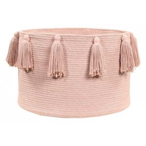 Cos nude din bumbac Tassels Nude Vintage Lorena Canals