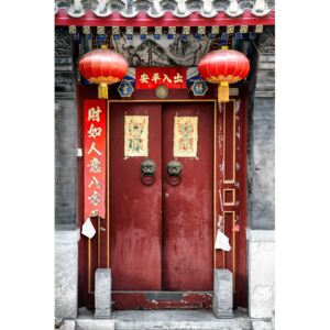 Fotografii artistice China 10MKm2 Collection - Red Door, Philippe Hugonnard