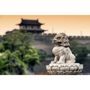 Fotografii artistice China 10MKm2 Collection - Guardian of the Temple, Philippe Hugonnard