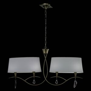 Suspensie-MARA-ANTIQUE-BRASS---OFF-WHITE-SHADE-1622-Mantra