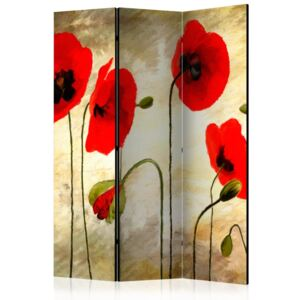 Bimago Paravan - Golden Field of Poppies 135x172cm
