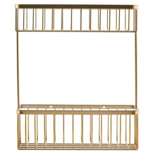 Cos alama 28 cm Brushed Brass Double House Doctor