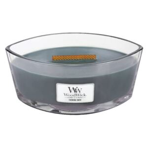 Lumanare Woodwick Evening Onyx gri