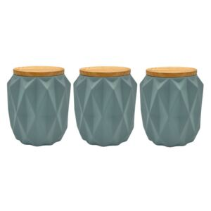Set de 3 recipiente Florence ceramica