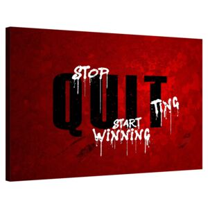 Stop Quitting, Start Winning
