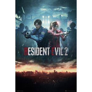 Resident Evil 2 - City Key Art Poster, (61 x 91,5 cm)