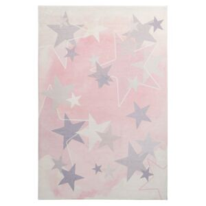 Covor roz din poliester My Stars Obsession (diverse dimensiuni)