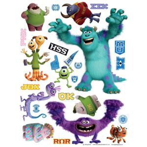 AG Design Monsters University - autocolant de perete 65x85 cm