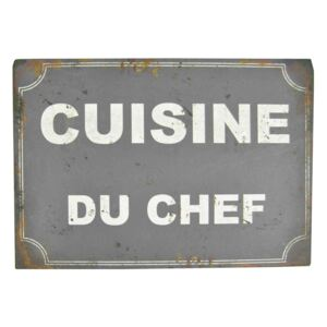 Decorațiune metalică Antic Line Cusine Du Chef