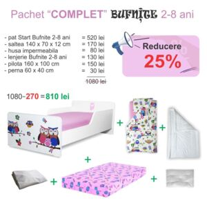 Pachet Promo Complet Start Bufnite 2-8 ani