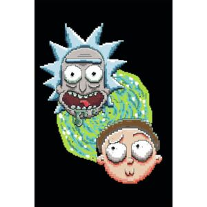Rick and Morty - Iconic Duo, (85 x 128 cm)