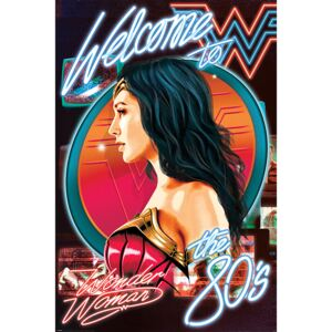 Wonder Woman 1984 - Welcome To The 80s Poster, ( x cm)