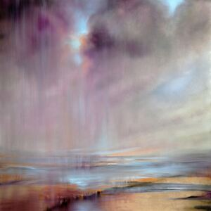 Ilustrare And then the sky opens up, Annette Schmucker