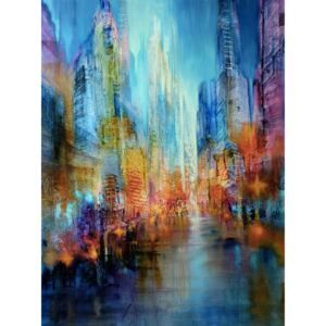Ilustrare Big city, Annette Schmucker