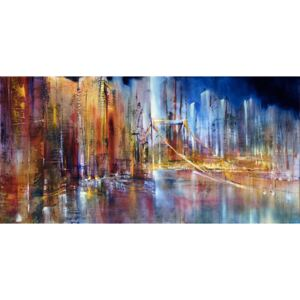 Ilustrare City view, Annette Schmucker