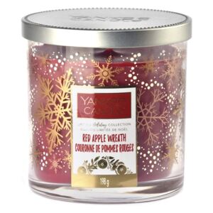 Yankee Candle lumanare parfumata Red Apple Wreath Limited Décor mica