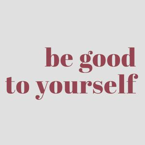 Ilustrare Be good to yourself, Finlay Noa