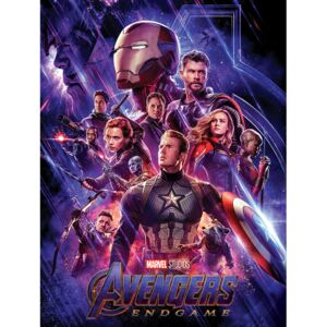 Tablou Canvas Avengers: Endgame - Journey's End, (30 x 40 cm)