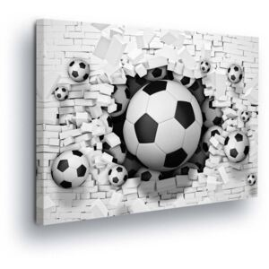 Tablou GLIX - Puzzle with Football Ball II 80x60 cm