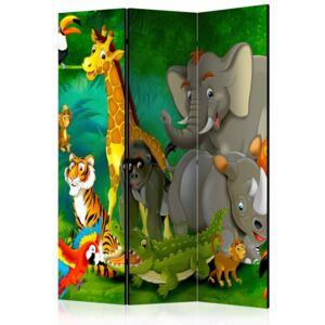 Bimago Paravan - Colourful Safari 135x172 cm