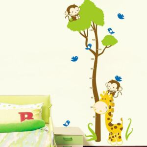Autocolant Ambiance Tree And Monkey