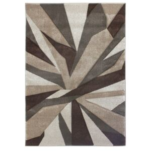Covor Flair Rugs Shatter Beige Brown, 80 x 150 cm, bej - maro